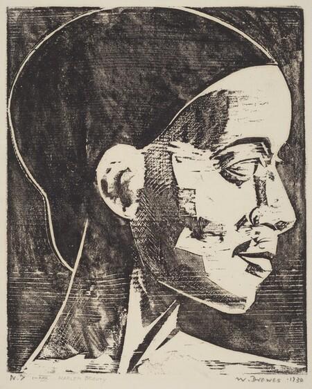 Werner Drewes, Harlem Beauty, 1930