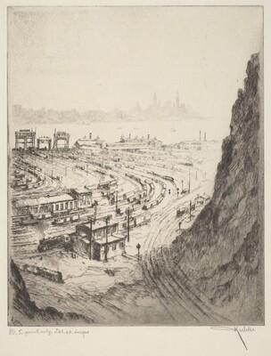 River, Railroad, Rock