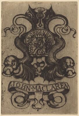 Bookplate of John Maclaren