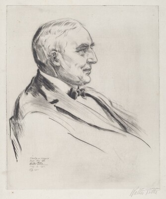President Harding, Profile View