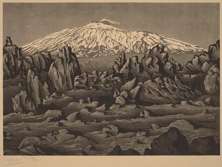 Mount Etna near Bronte, Sicily