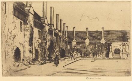 Almshouses, St. Cross