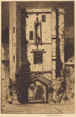 Beaufort's Tower, St. Cross