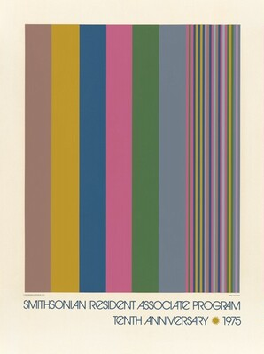 Untitled (Poster for Smithsonian Resident Associate Program, Tenth Anniversary)