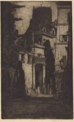 Saint Gervais, Rue des Barres