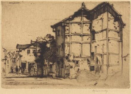 Sketch in La Roche