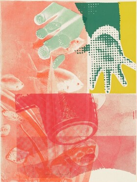 James Rosenquist, For Love, 1965