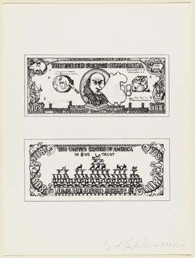 108 Dollar Bill