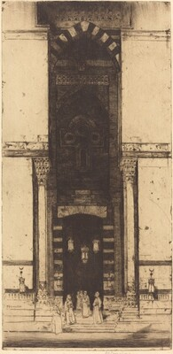 The Mosque Doorway