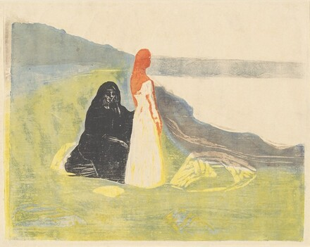 Two Women on the Shore (Frauen am Meeresufer)
