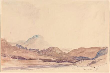 Glen Lyon - Evening Mist