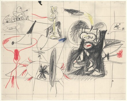 Untitled (Squared Study for The Plow and the Song)