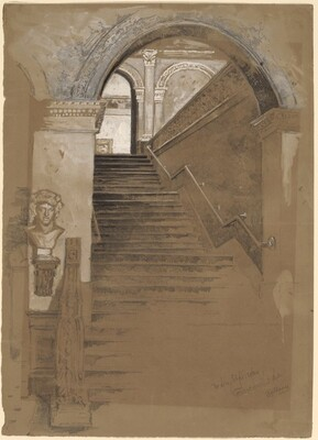 Main Stairway, Corcoran Art Gallery