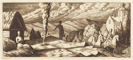 The Magi (Christmas Card from Margaret and Geoffrey Keynes)
