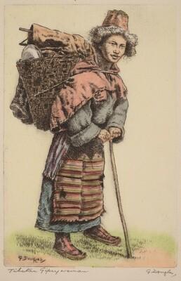 Tibetan Gypsy Woman