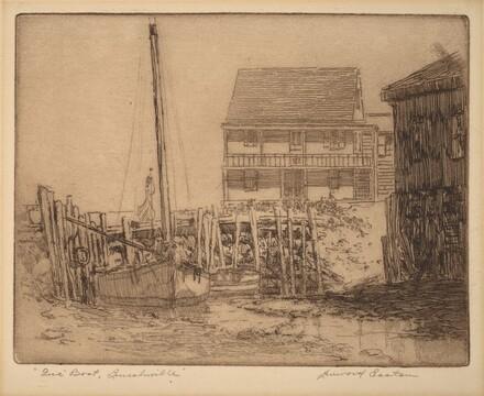 Gus' Boat, Lincolnville