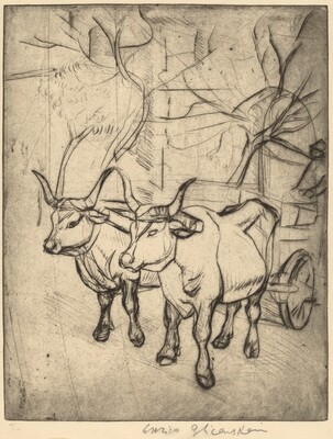 Oxcart