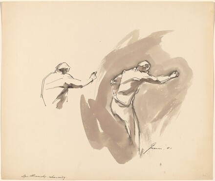 Igor Stravinsky Rehearsing