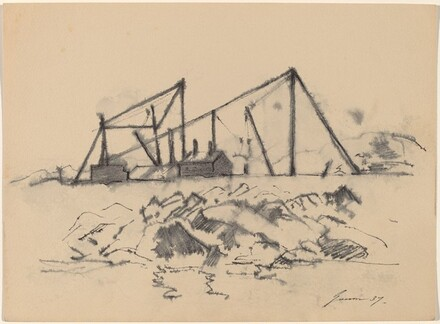 Rocks and Cranes