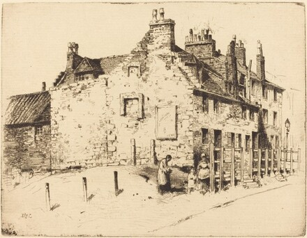 Old Houses on South-Side of Rottenrow (Glasgow)