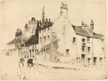 Corner of Rotten Row and Taylor Street (Glascow)