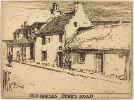 Old Houses, Byres Road, Partick