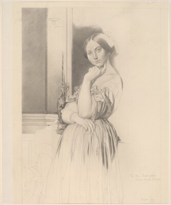 Ingres Copy (Comtesse d'Haussonville, Frick Collection)