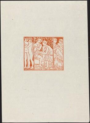 Third Eclogue: Aegon Putting His Flock in Damoetas' Care (En-tete de la troisieme eglogue)