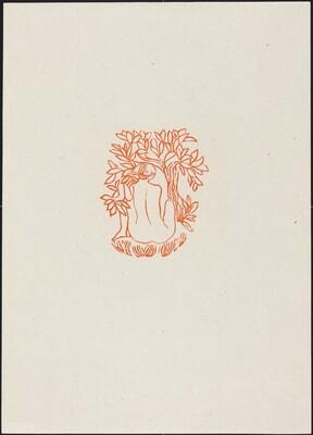 Seventh Eclogue: A Girl Under a Tree (Jeune fille sous un arbre)