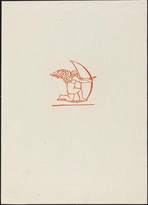 Eighth Eclogue: Cupid (Cupidon tirant de l'arc)