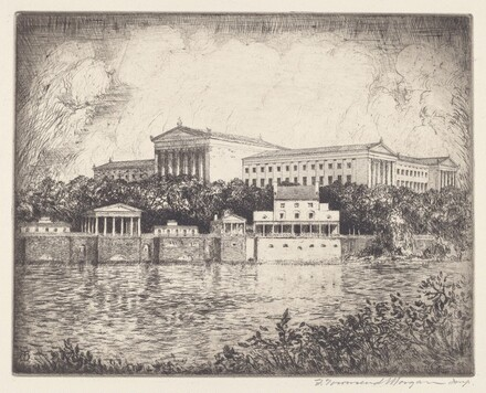 Philadelphia Museum of Art and the Fairmont Waterworks