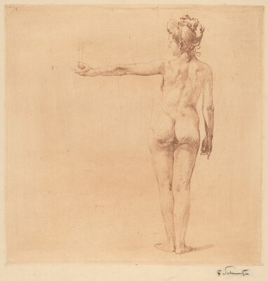 Nude with Outstretched Arm