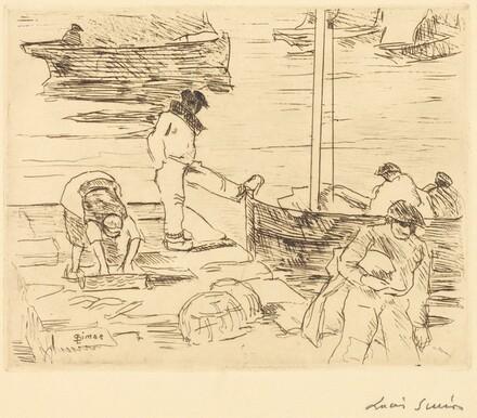 Fishing Boats Docking