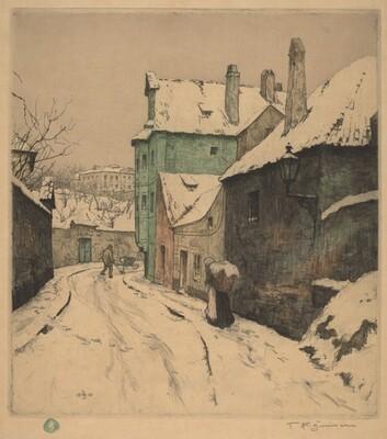 Little Street in Prague