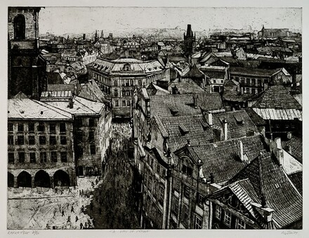 Kafka-ville: A View of Prague