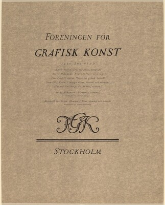 Foreningen for Grafisk Konst