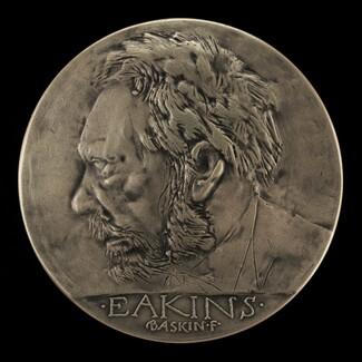 Thomas Eakins House Restoration Commemorative Medal [obverse]