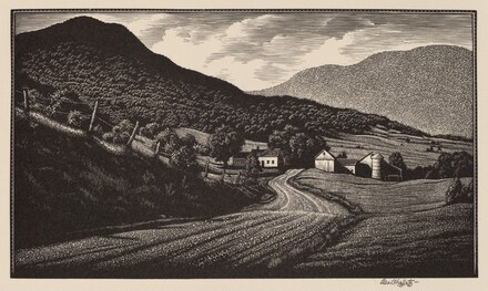 Down Montgomery Way, Vermont