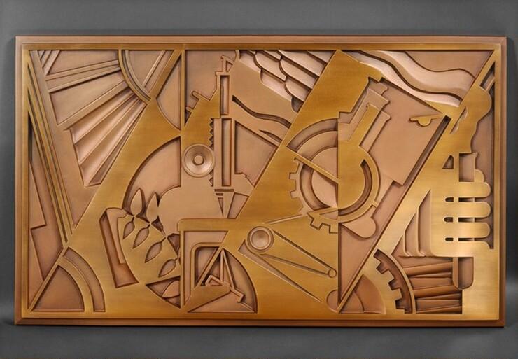 Roy Lichtenstein, Peace Through Chemistry Bronze, 1971