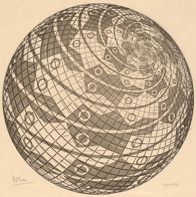 Sphere Surface with Fish