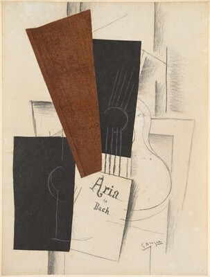 Georges Braque, Aria de Bach, 1913
