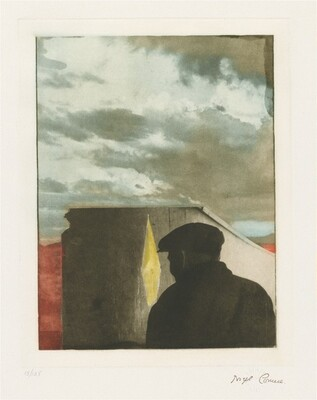 Untitled (Landscape with Figure)