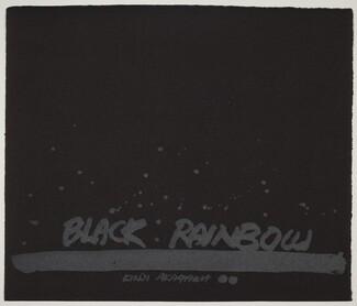 Black Rainbow I (Title Page)