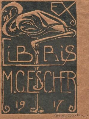 Bookplate M.C. Escher
