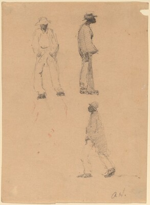 Sketches of Street Figures, Charleston