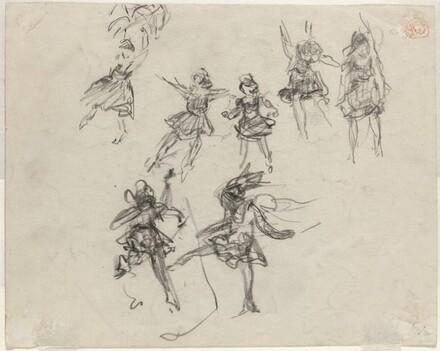 Dancing Figures [verso]