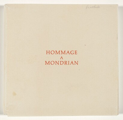Hommage a Mondrian