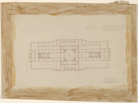 Early Plan Study: Two-Story Scheme