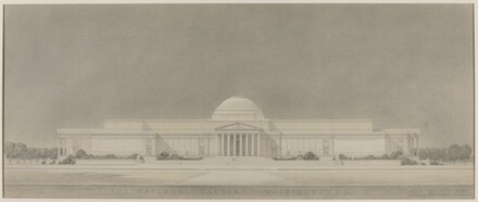 Early Study, Mall Facade