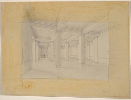 Central Lobby: Ground Floor, Scheme B